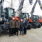 Besuch vom Hersteller ATLAS Maschinen GmbH