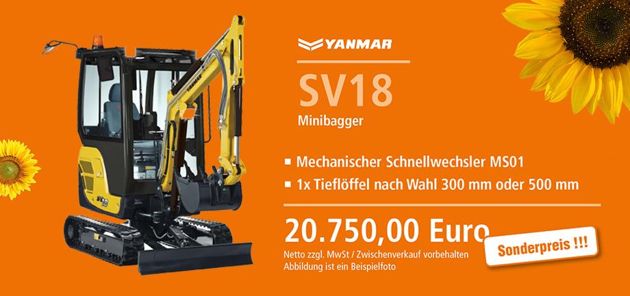 Yannar SV18 Angebote