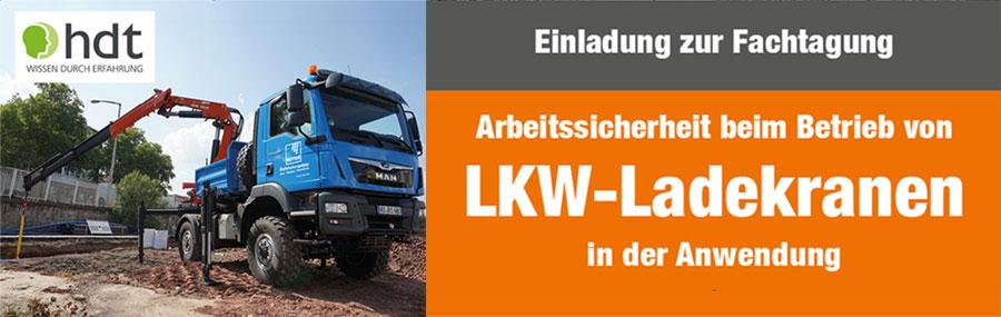 Einladung:Fachtagung LKW-Ladekrananwender - Hersteller unabhängig